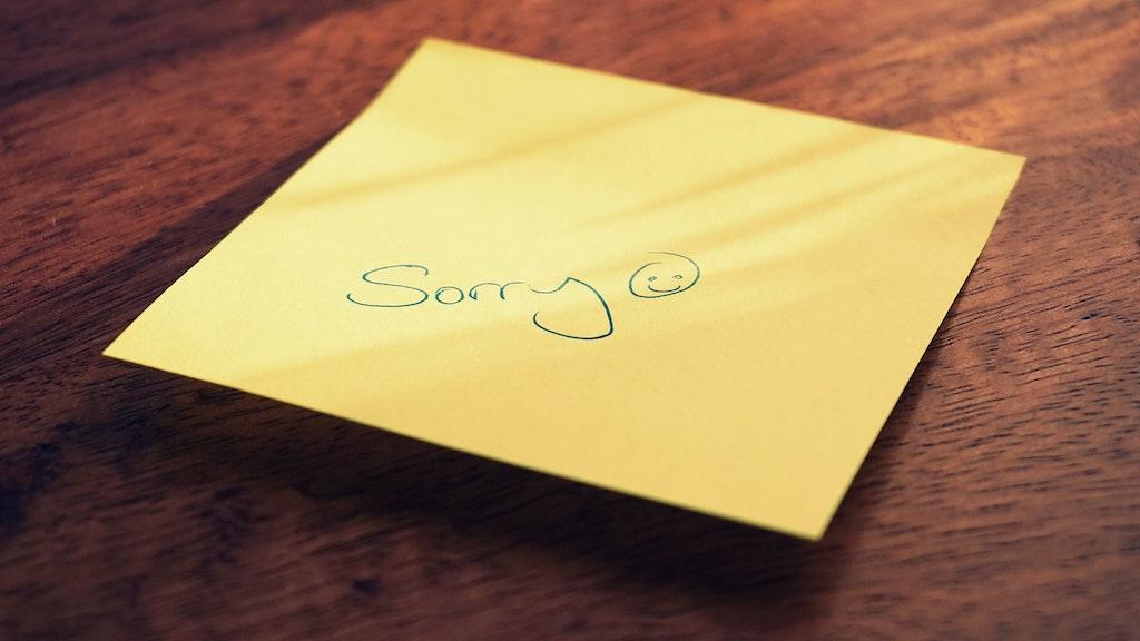 sophia bolzano sorry seems to be the hardest word